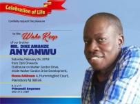 [Image:Wake Keeping for Dike Amanze Anyanwu]